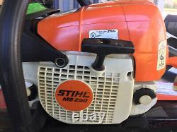 Stihl Ms 290 Chain Saw Farm Boss 18 Bar Runs Great