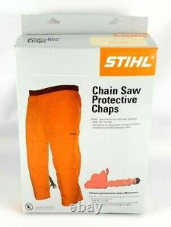 Stihl Performance Wrap Chap Chain Saw Chaps Waist 30-40 L-36 (0000 886 3204)