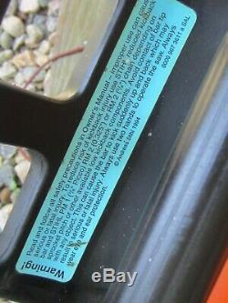 Stihl chain saw withfarm boss 20 bar chain for parts/repair does run vtg 1990s