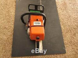 Stihl chainsaw ms460