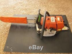 Stihl chainsaw ms660