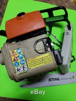 Stihl ms200t chainsaw all OEM 160 psi (no aftermarket parts)strong saw 200t 020t