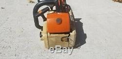 Stihl ms200t chainsaw top handle arborist saw