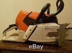 Stihl ms661c magnum chainsaw with new 28 Stihl bar