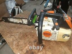 Stihl ms 200t Excellent condition runs smooth top handle trim chain saw climbin
