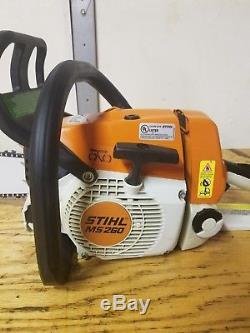 Stihl ms 260 Pro (SUPER LOW TIME) New 18 bar