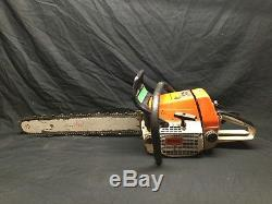Stil 036 Pro Chainsaw with 20 Blade Works Great