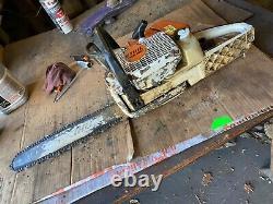 Used MS360 Pro Stihl chain saw