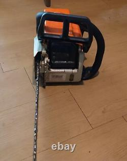 Used Running Stihl MS 170 chainsaw with 16 bar & chain