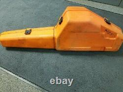 Used STIHL Chainsaw Heavy Duty Carrying Case Chain Saw Storage Case