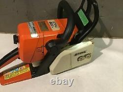 Used STIHL MS023L LOW NOISE Chainsaw MS 023 Chain Saw 023L Runs NEEDS SEALS