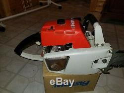 VINTAGE STIHL 041 CHAINSAW with16 bar and chain clean chainsaw