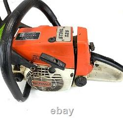 VTG 90's Stihl 026 Chainsaw Vintage Saw with 20 Bar and Chain Parts Only