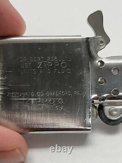 Vintage 1972 Zippo Lighter Stihl Chain Saws Unfired
