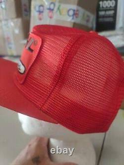 Vintage 80s K-Brand Mesh Stihl Chain Saws Trucker Snapback Hat Cap K Products