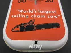 Vintage Original Stihl Chain Saws Advertising Thermometer