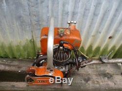 Vintage Rexo LS Chainsaw. Like Teles, Stihl, Danarm, Dolmar, PPK 2 Man Chainsaw