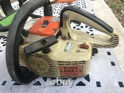 Vintage STIHL 009L ELECTRONIC QUICKSTOP Chainsaw Chain Saw