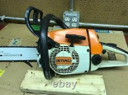 Vintage STIHL 024 AV WOOD BOSS Electronic Quickstop CHAINSAW Chain Saw