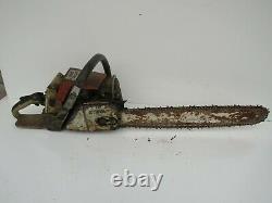 Vintage STIHL 044 0 44 O44 Chainsaw Chain Saw Project
