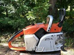Vintage STIHL 045 AV Super Chainsaw, Starts and Runs