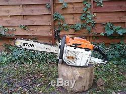 Vintage STIHL 076 AV Chainsaw, Starts and Runs, Collectible