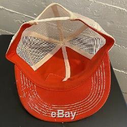 Vintage STIHL CHAIN SAWS K-Brand Mesh Trucker Patch Hat Cap Snapback USA
