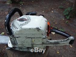 Vintage Stihl 041 AV Chainsaw, Starts and Runs