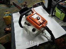 Vintage Stihl 075 chainsaw