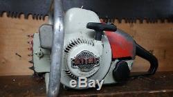 Vintage Stihl S10 S 10 Chainsaw Powerhead Runs Good Powerhead Only 08s 08 S